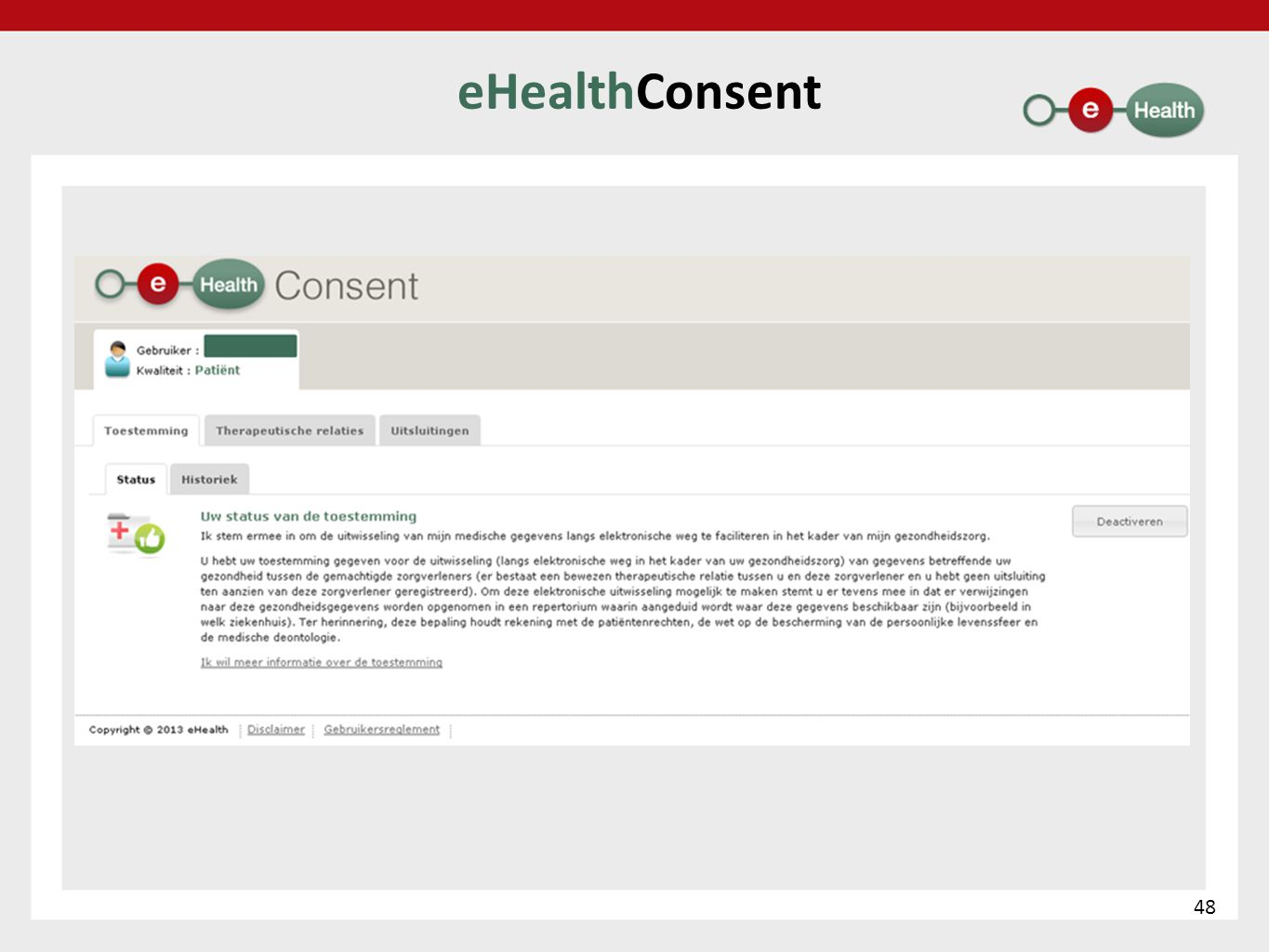 eHealthConsent 48