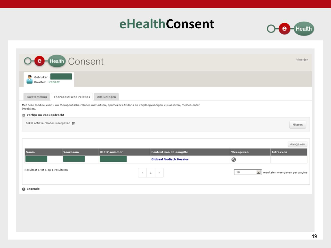 eHealthConsent 49