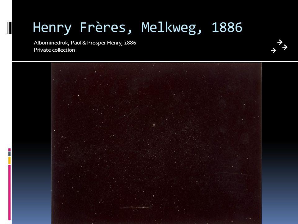 Henry Frères, Melkweg, 1886 Albuminedruk, Paul & Prosper Henry, 1886