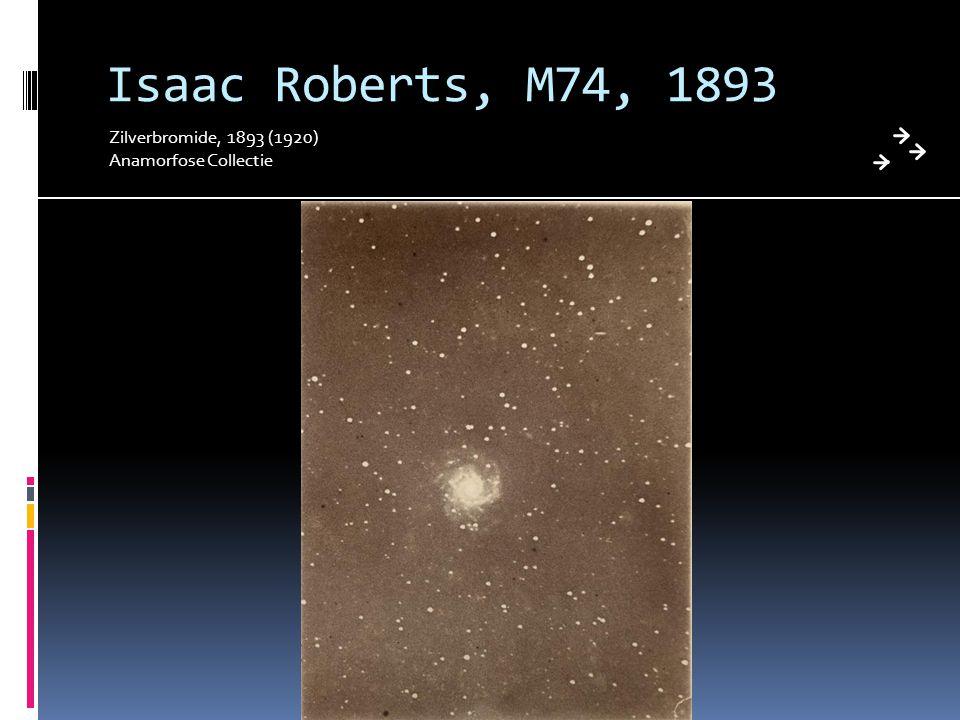 Isaac Roberts, M74, 1893 Zilverbromide, 1893 (1920)