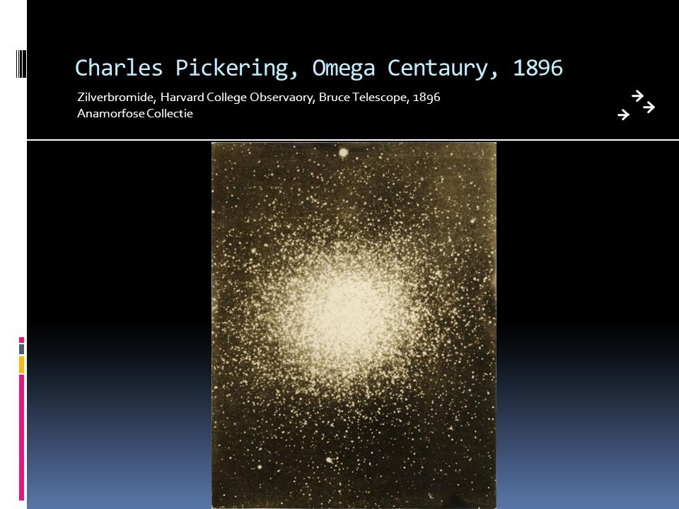 Charles Pickering, Omega Centaury, 1896