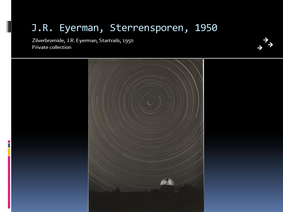 J.R. Eyerman, Sterrensporen, 1950