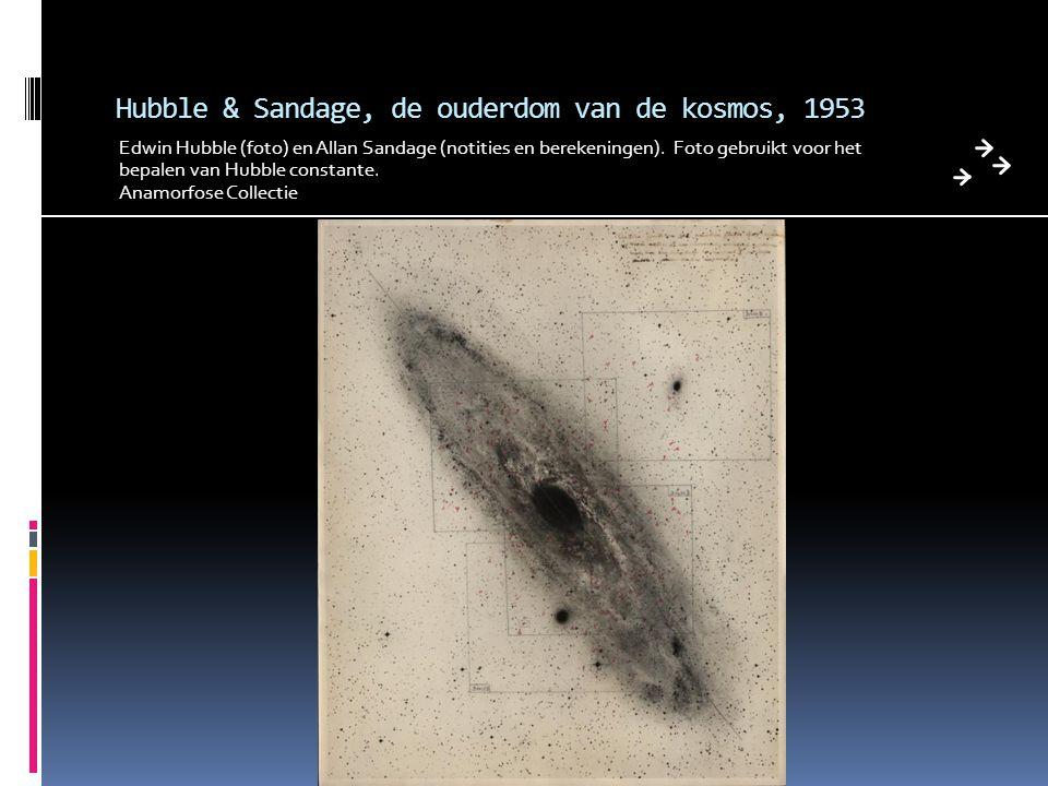 Hubble & Sandage, de ouderdom van de kosmos, 1953
