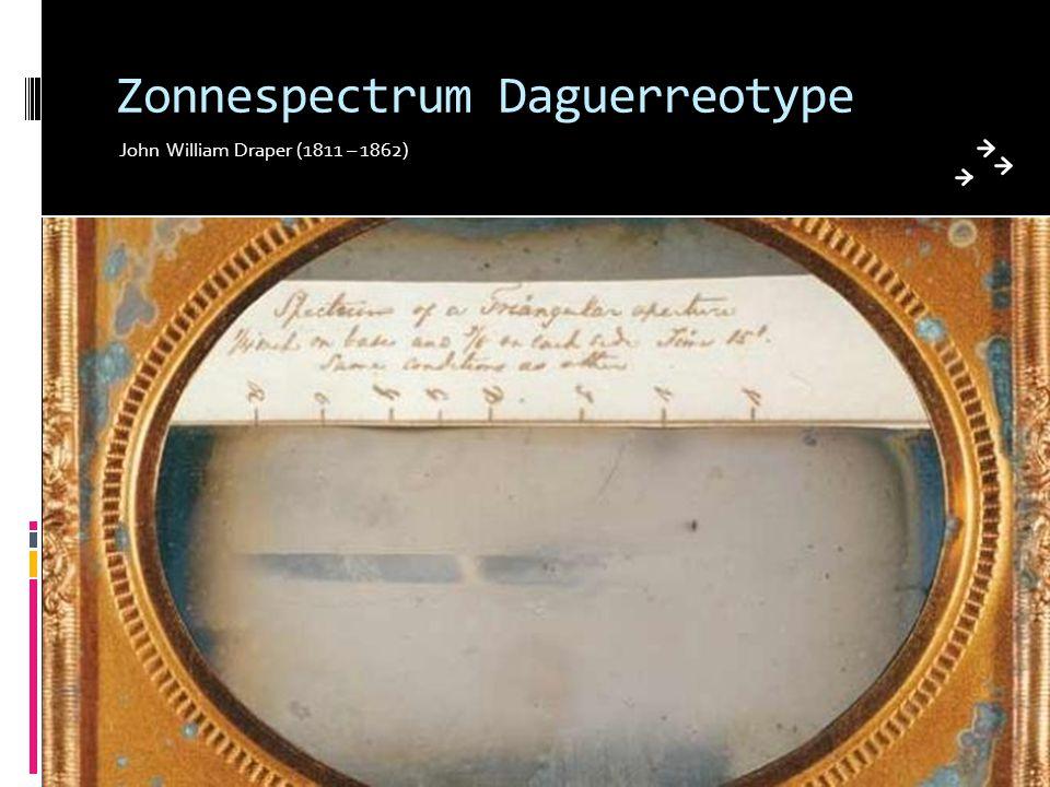 Zonnespectrum Daguerreotype