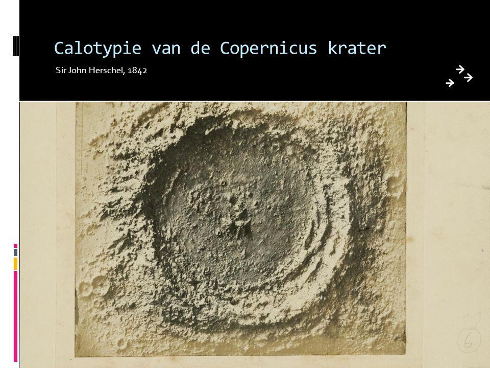 Calotypie van de Copernicus krater
