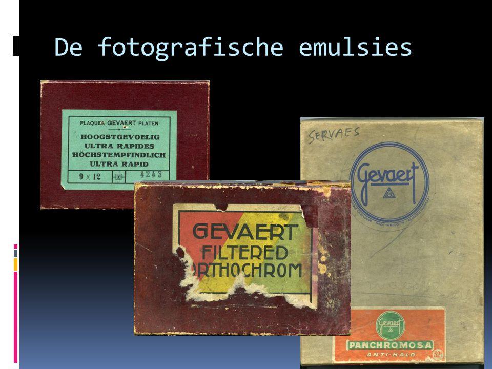 De fotografische emulsies