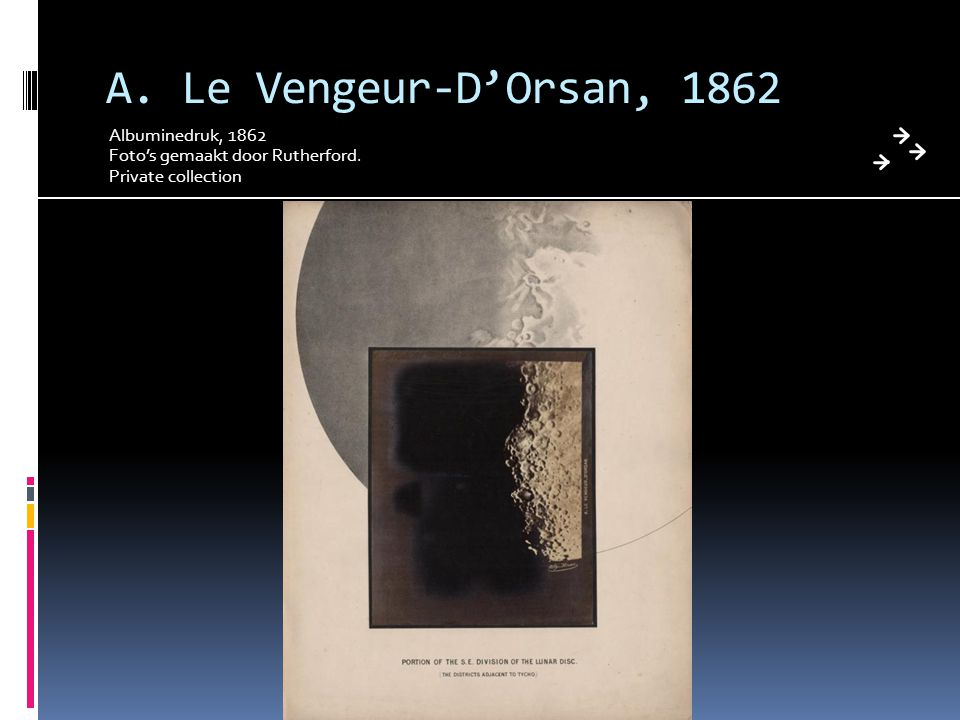 A. Le Vengeur-D'Orsan, 1862 Albuminedruk, 1862