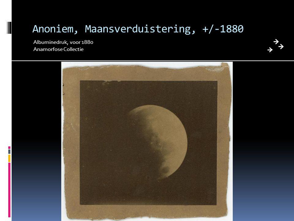 Anoniem, Maansverduistering, +/-1880