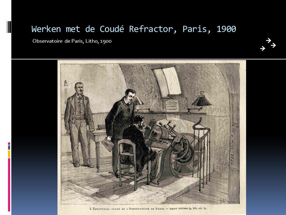 Werken met de Coudé Refractor, Paris, 1900