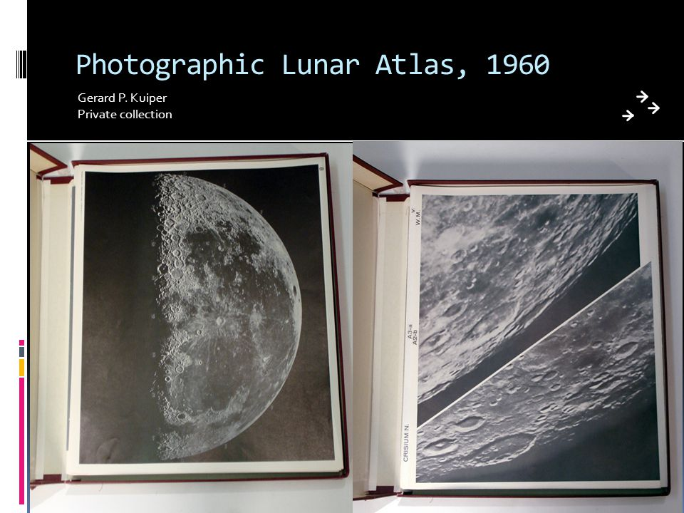 Photographic Lunar Atlas, 1960