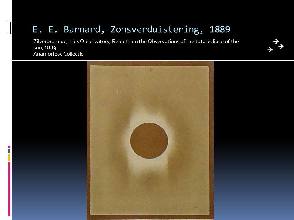 E. E. Barnard, Zonsverduistering, 1889