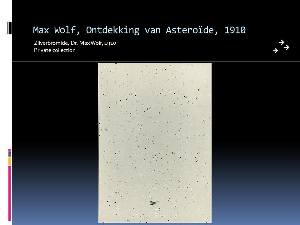 Max Wolf, Ontdekking van Asteroïde, 1910