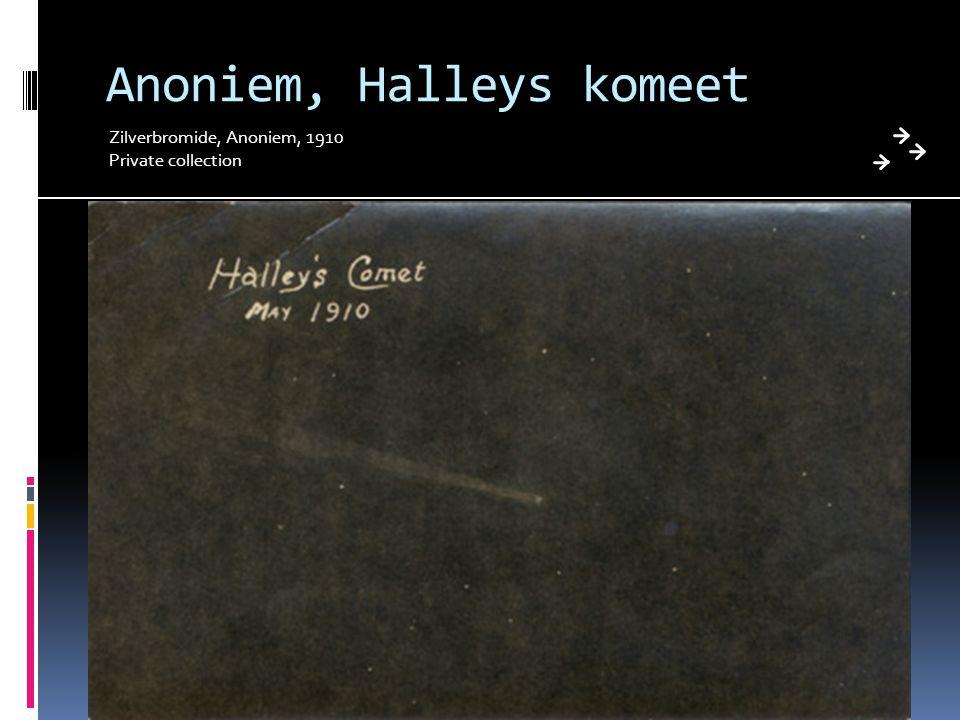 Anoniem, Halleys komeet