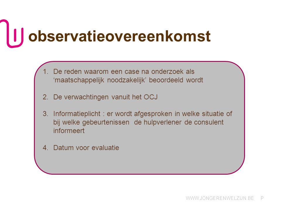 observatieovereenkomst