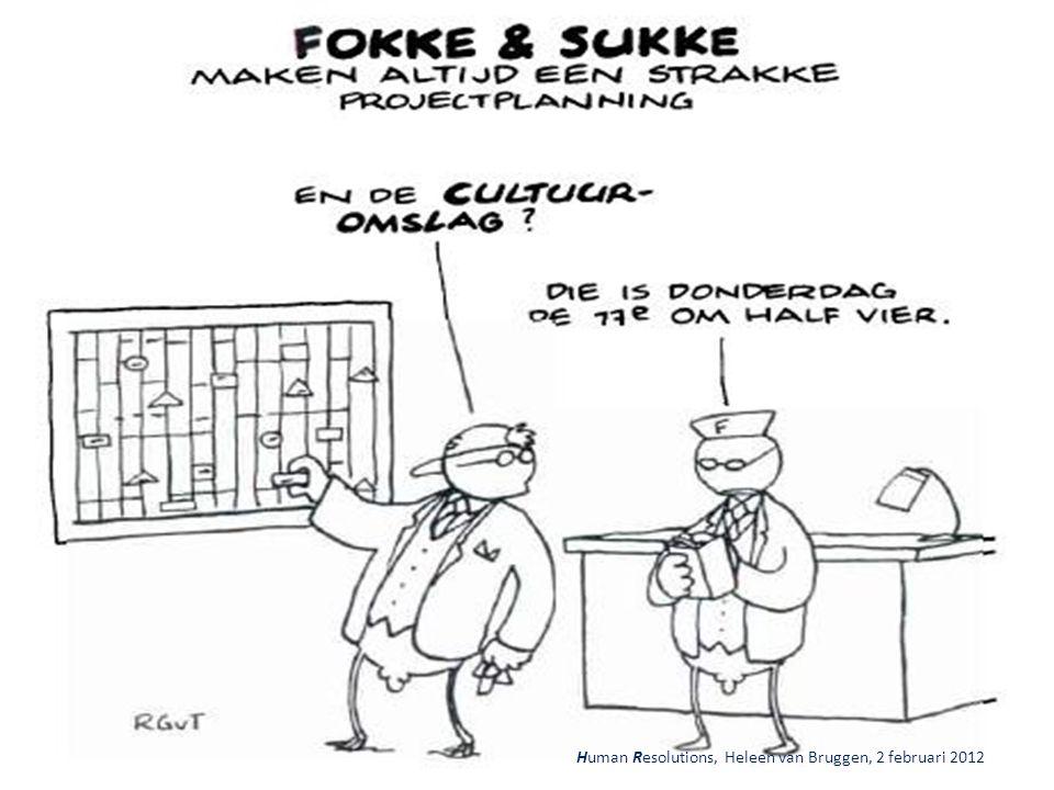 Human Resolutions, Heleen van Bruggen, 2 februari 2012