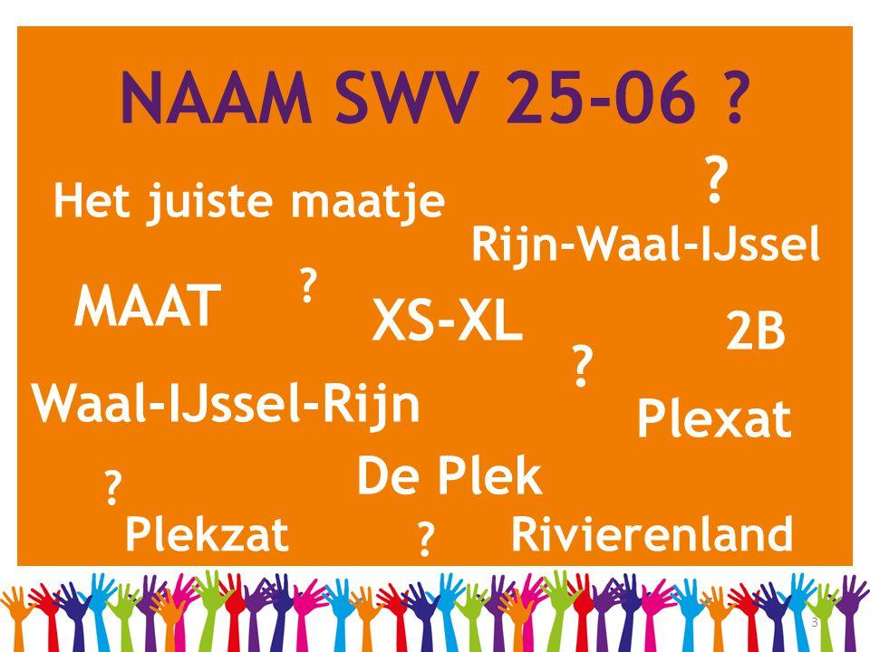 NAAM SWV 25-06 MAAT XS-XL 2B Waal-IJssel-Rijn Plexat De Plek