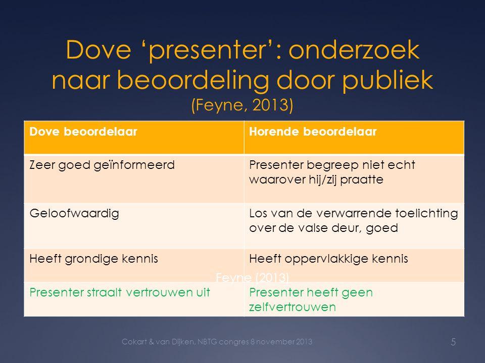 Dove 'presenter': onderzoek naar beoordeling door publiek (Feyne, 2013)