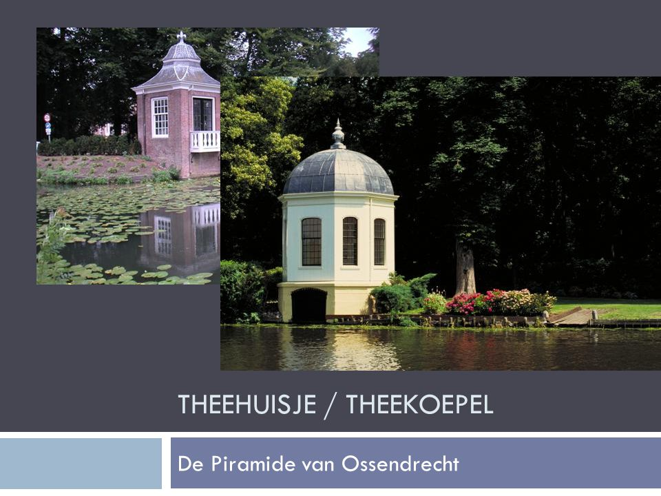 theeHUISJE / THEEkoepel