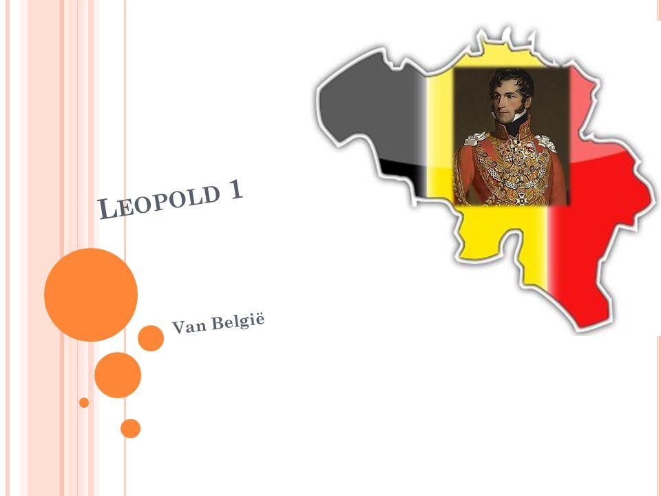 Leopold 1 Van België