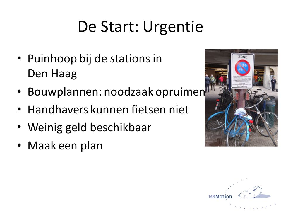 De Start: Urgentie Puinhoop bij de stations in Den Haag