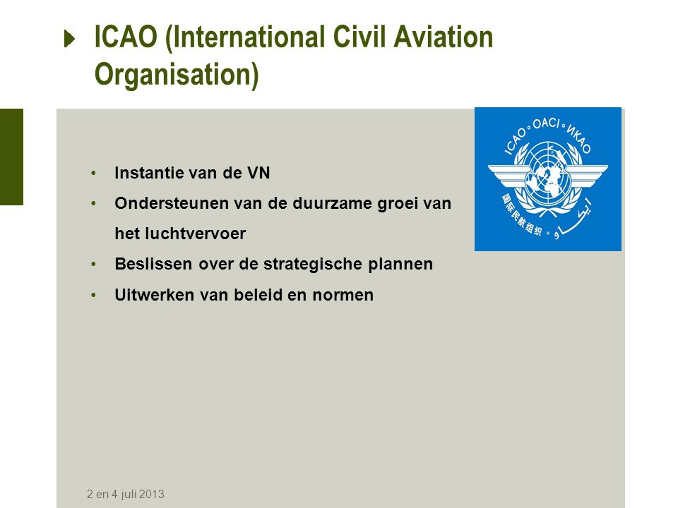 ICAO (International Civil Aviation Organisation)