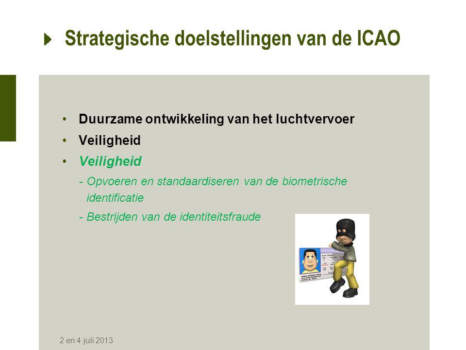 Strategische doelstellingen van de ICAO