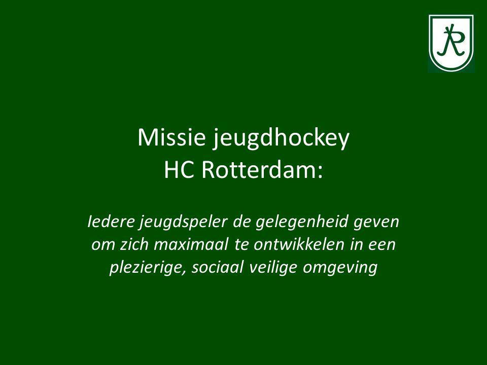 Missie jeugdhockey HC Rotterdam: