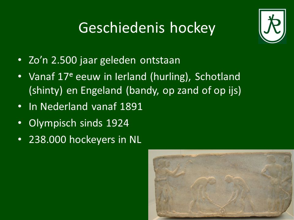 Geschiedenis hockey Zo'n 2.500 jaar geleden ontstaan