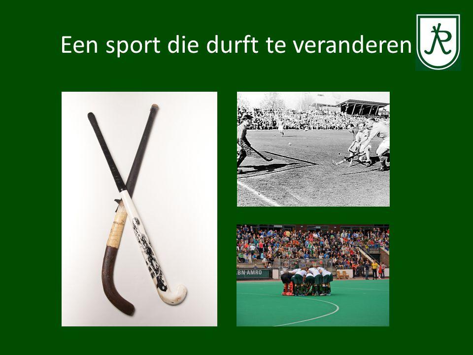 Een sport die durft te veranderen