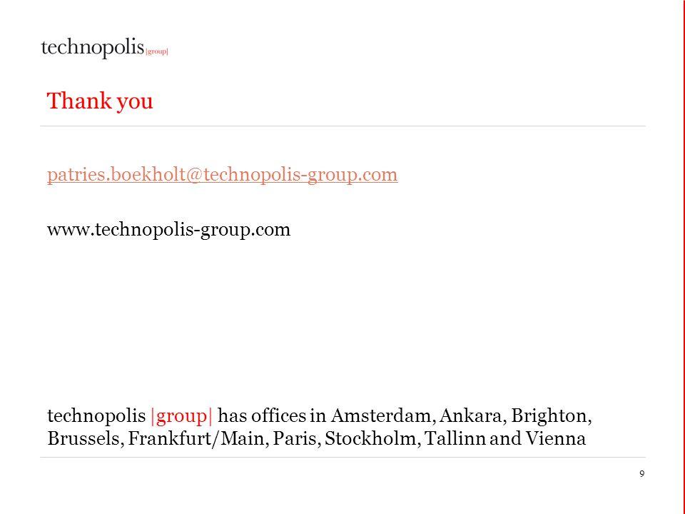 Thank you patries.boekholt@technopolis-group.com