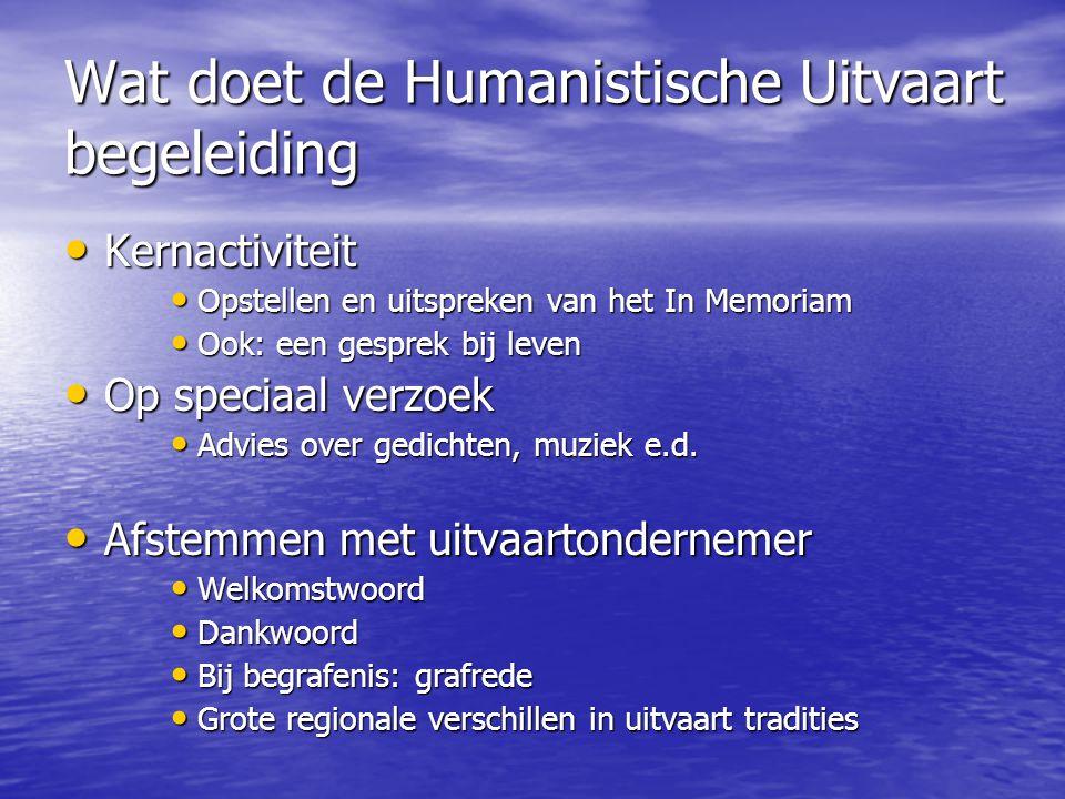 Wat doet de Humanistische Uitvaart begeleiding