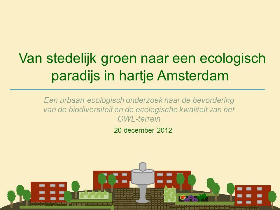 Van stedelijk groen naar een ecologisch paradijs in hartje Amsterdam