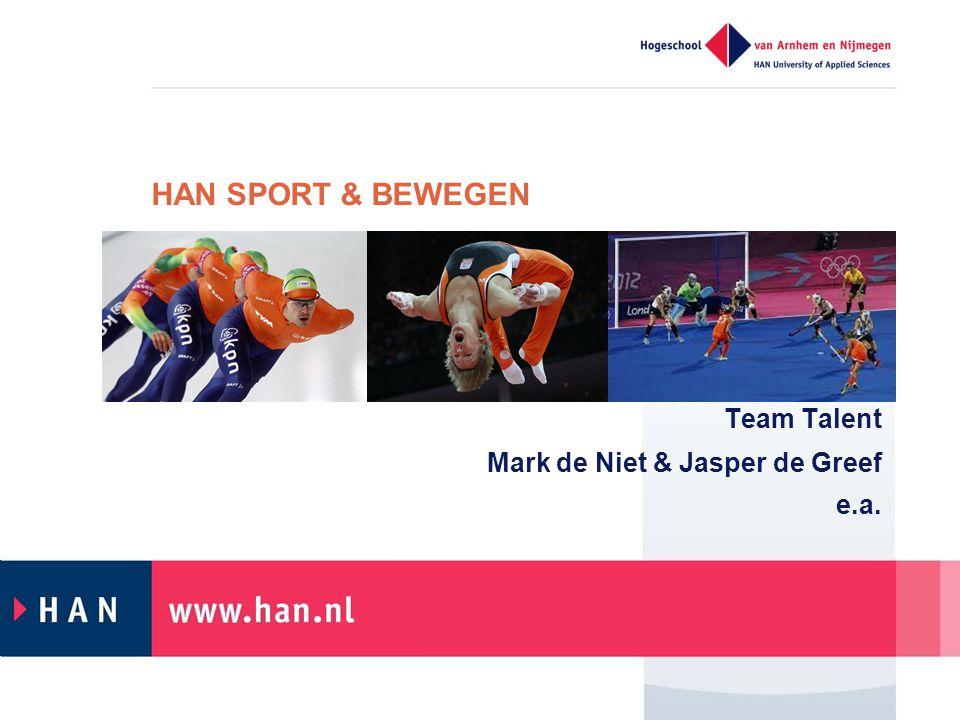 Team Talent Mark de Niet & Jasper de Greef e.a.