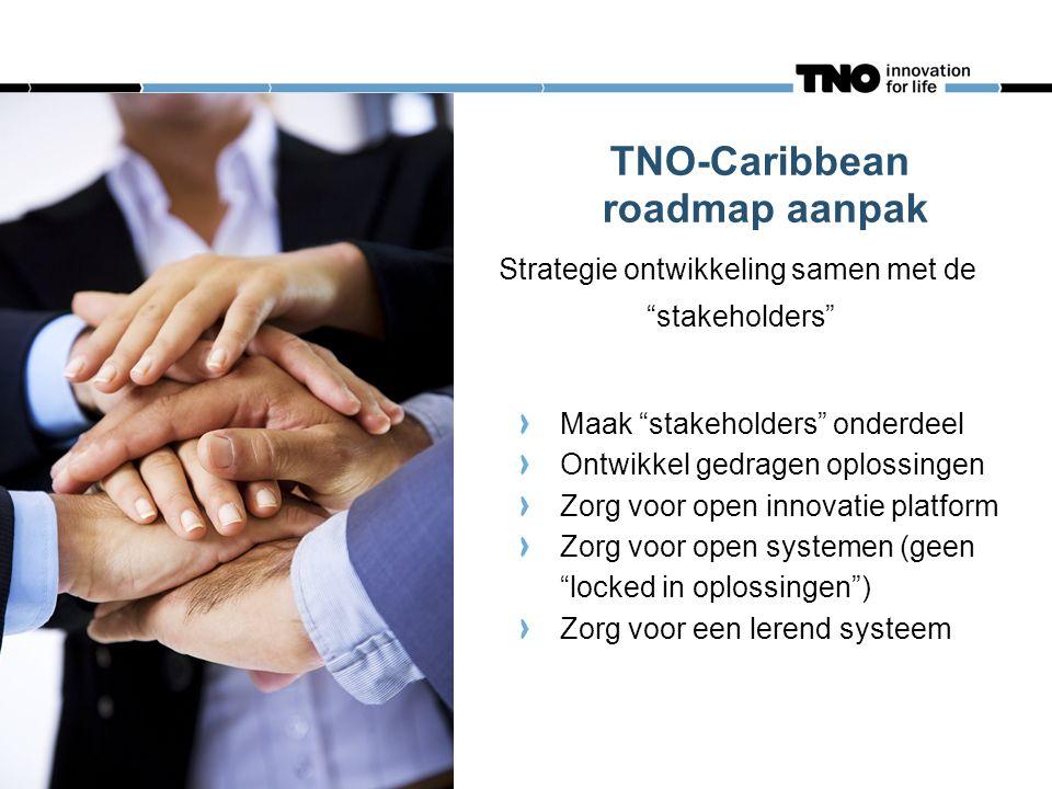 TNO-Caribbean roadmap aanpak