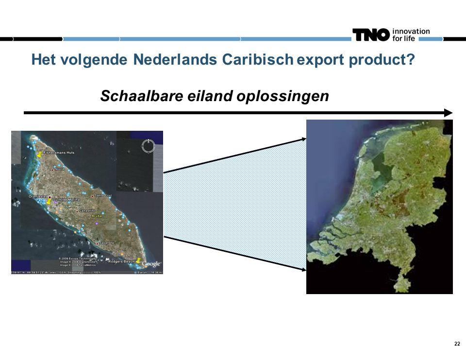 Het volgende Nederlands Caribisch export product