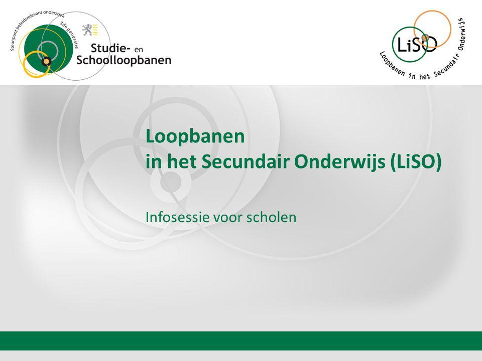 Loopbanen in het Secundair Onderwijs (LiSO)