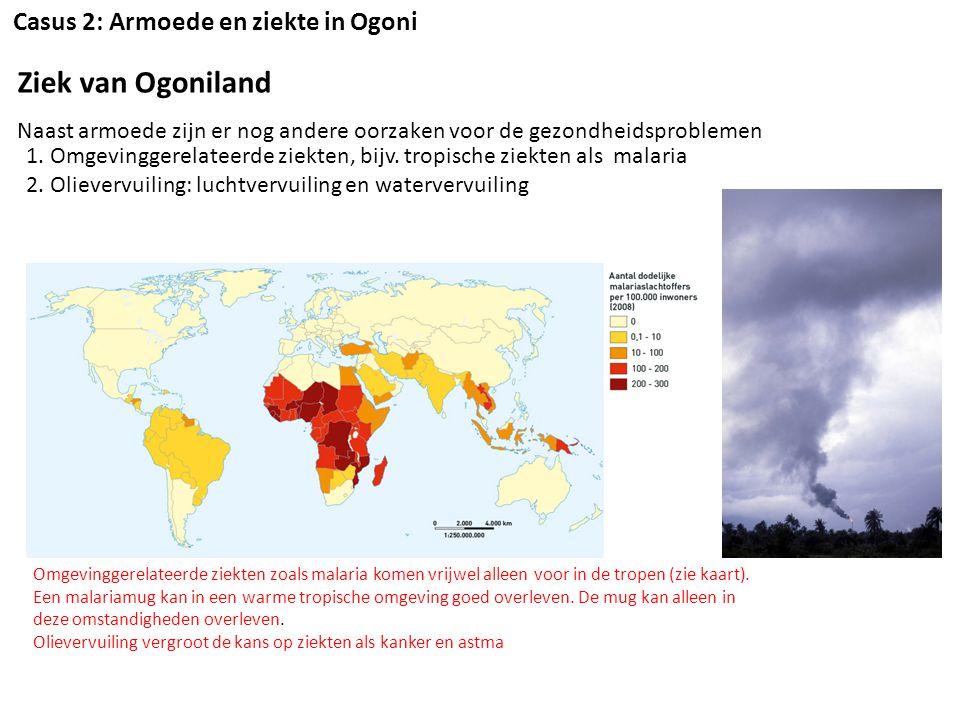 Ziek van Ogoniland Casus 2: Armoede en ziekte in Ogoni