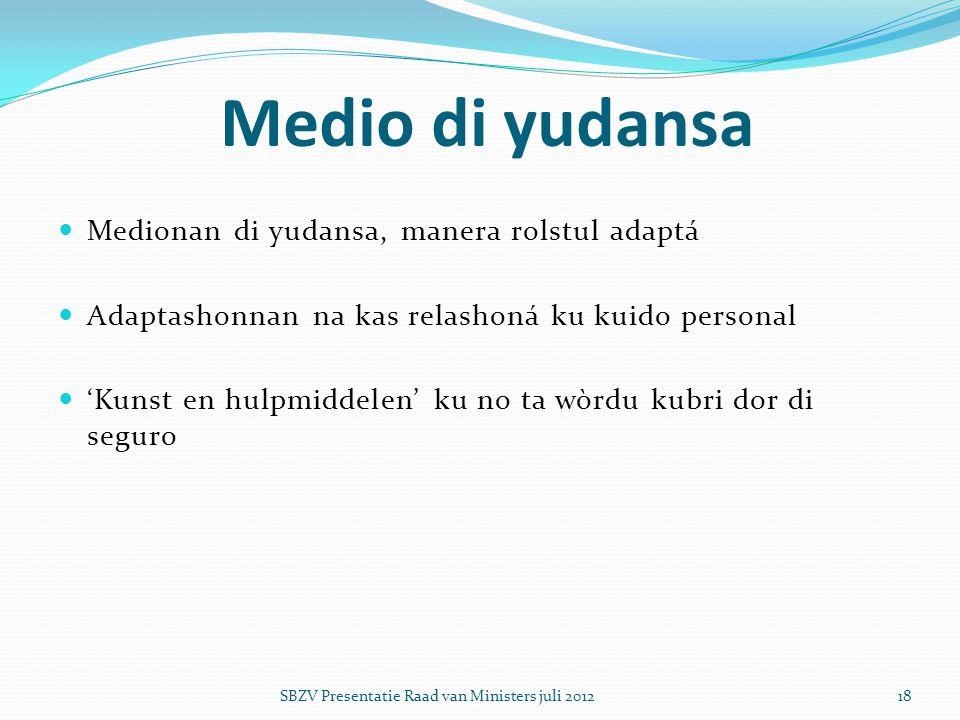 Medio di yudansa Medionan di yudansa, manera rolstul adaptá