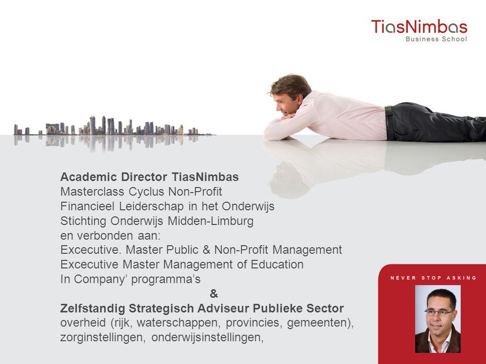 Academic Director TiasNimbas