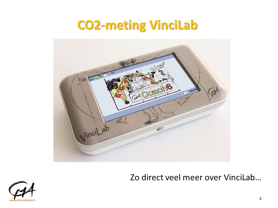 CO2-meting VinciLab Zo direct veel meer over VinciLab…