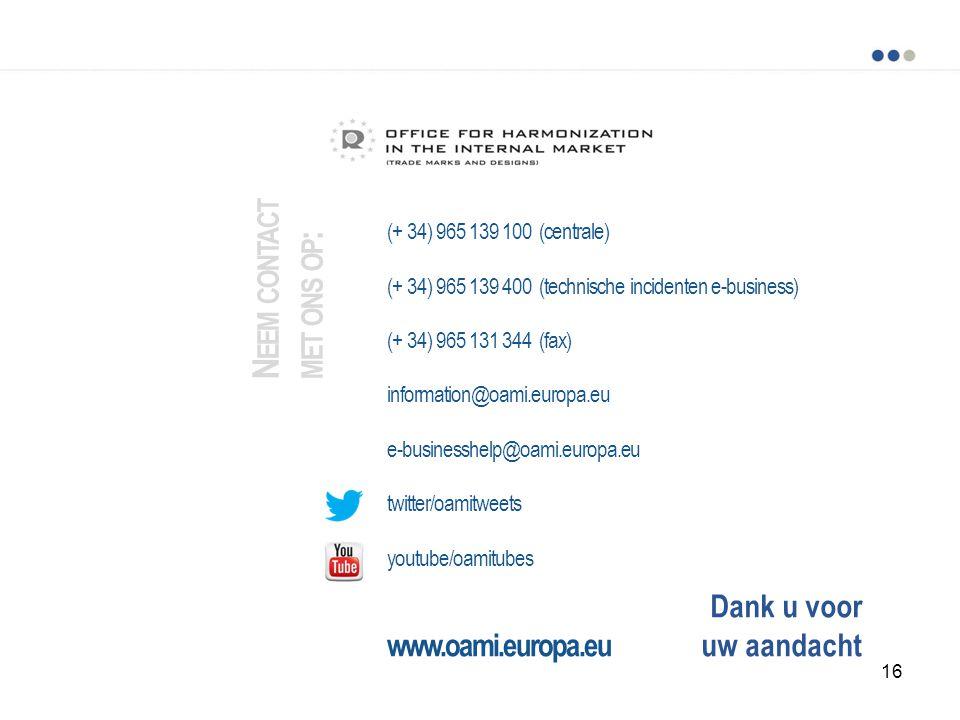 Neem contact met ons op: