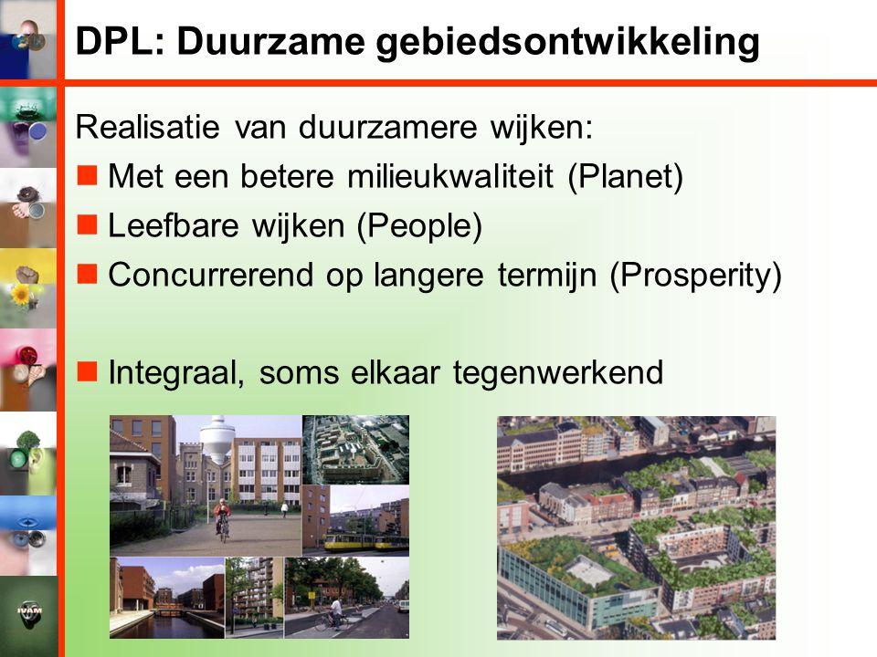 DPL: Duurzame gebiedsontwikkeling