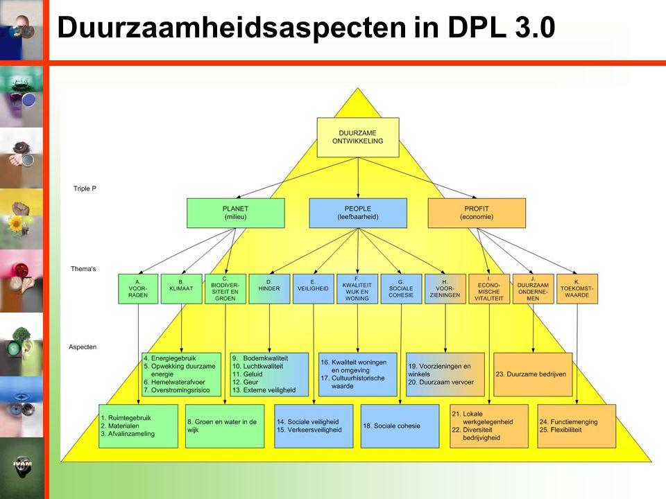 Duurzaamheidsaspecten in DPL 3.0