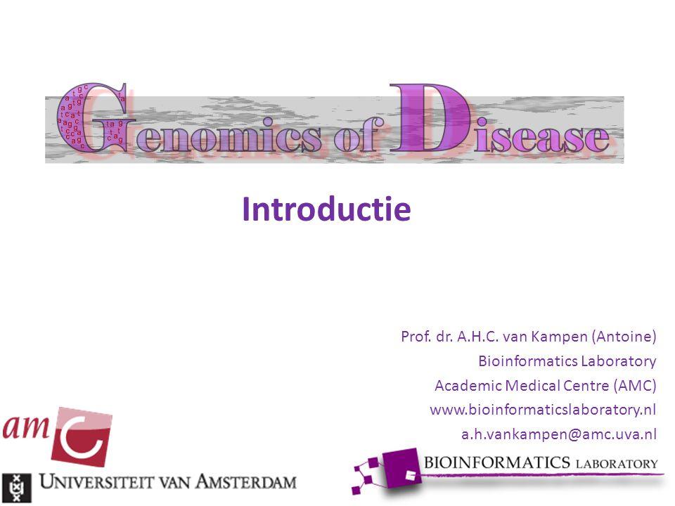 Introductie Prof. dr. A.H.C. van Kampen (Antoine)