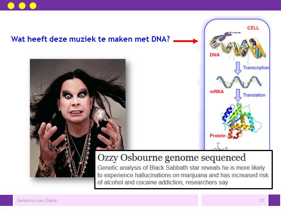 Wat heeft deze muziek te maken met DNA