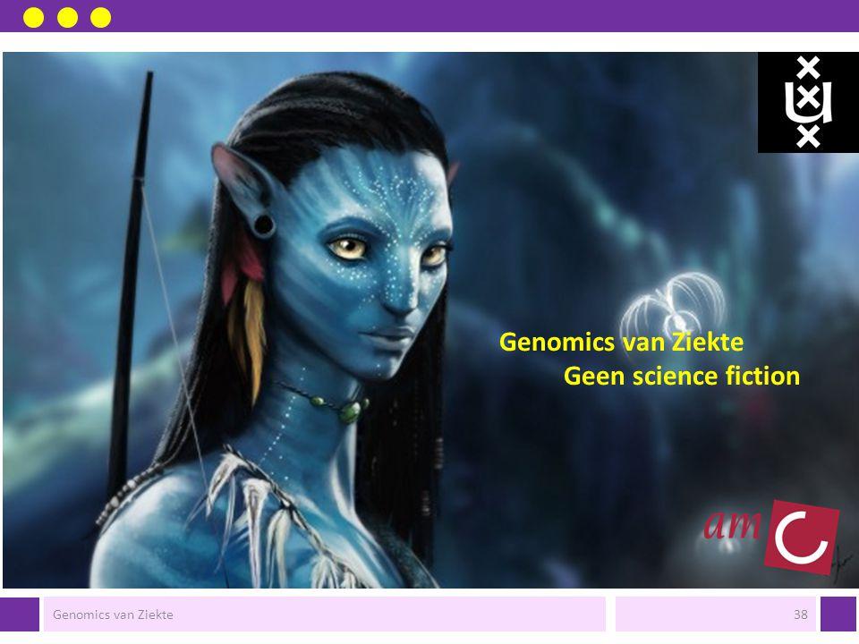 Genomics van Ziekte Geen science fiction