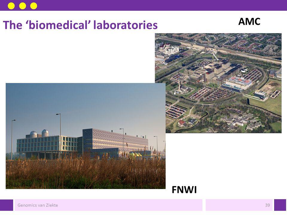 The 'biomedical' laboratories