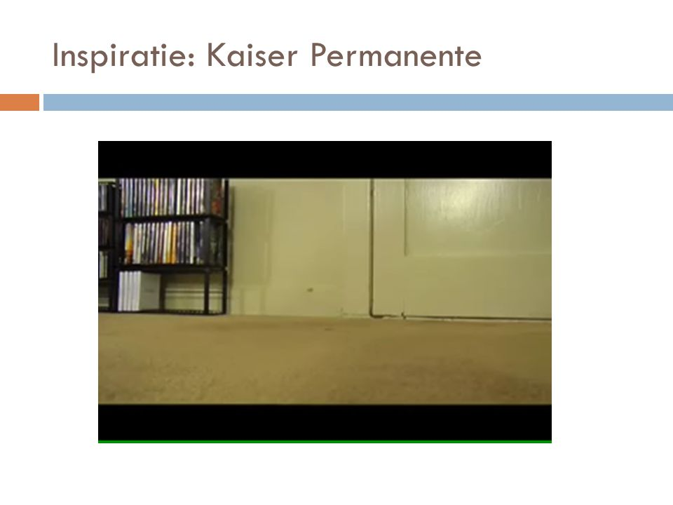 Inspiratie: Kaiser Permanente