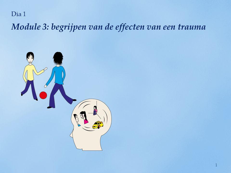 Module 3: begrijpen van de effecten van een trauma