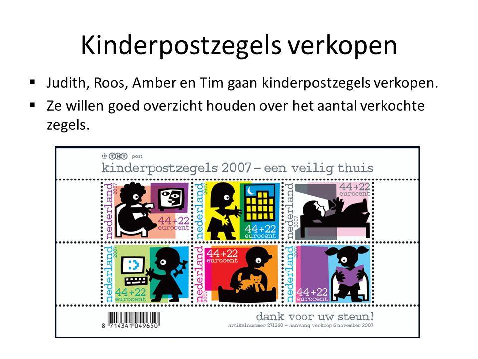 Kinderpostzegels verkopen